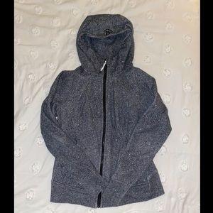 LIKE NEW Size 10 Lululemon scuba zip up hoodie